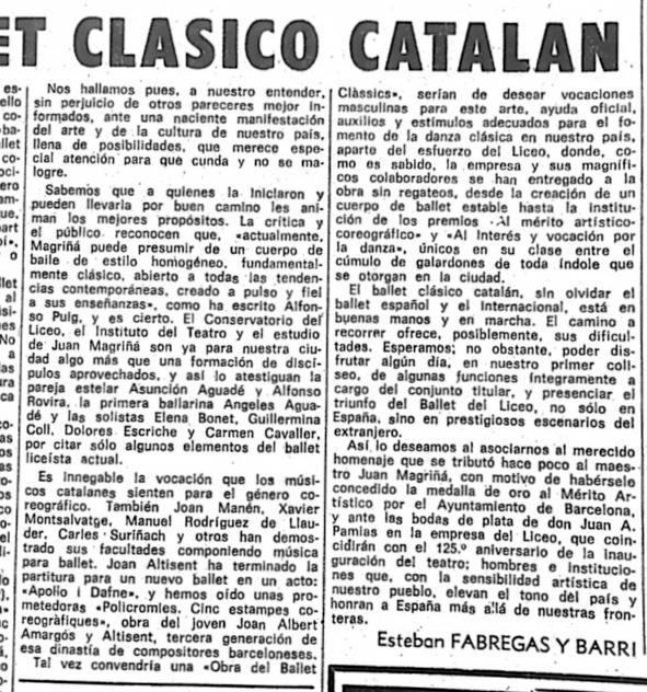 1971-03-13-La Vanguardia pag 47-EL BALLET CLASICO CATALAN-Esteban Fabregas y Barri-3