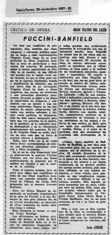 1967-11-29-Telexpres- Alissa-suor angelica-el duelo