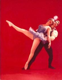 1960-EL PAJARO AZUL-sala Lubov Tchernicheva(estudi Magriñá)-Elizabeth Bonet, Juan Sánchez