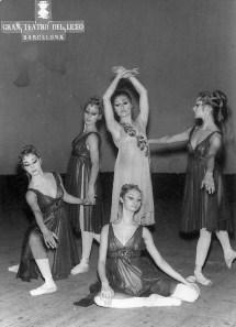 1971-01-20-FAUST-Angeles Aguadé, Guillermina Coll, Carmen Cavaller, Elena Bonet, Dolores Escriche ,