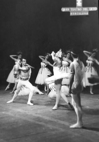 1966-11-24-FAUST-Rosalina Ripoll, Carmen Cavaller, Inma Junyent, José Mª Escudero, Cristina Guinjoan