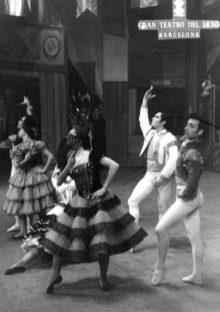 1966-12-02-CARMEN-opera-Albert Tort, A. Rovira, Asun. Aguadé, Elisa. Bonet, F. Lizundia