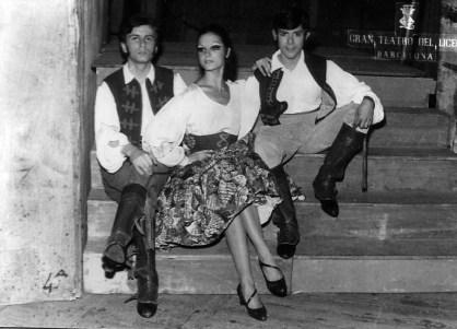 1969-11-13-CARMEN-opera-Tomàs Manyosa, Carme Cavaller, Josep Maria Maso