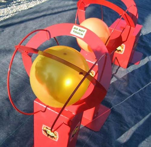Balloon Burst Race Game Hire Lichfield Entertainments UK