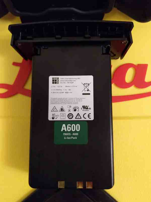 Leica A600 Li-Ion Rechargeable Battery Pack