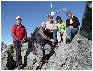 Der 3070 Meter hohe Rauhkopf