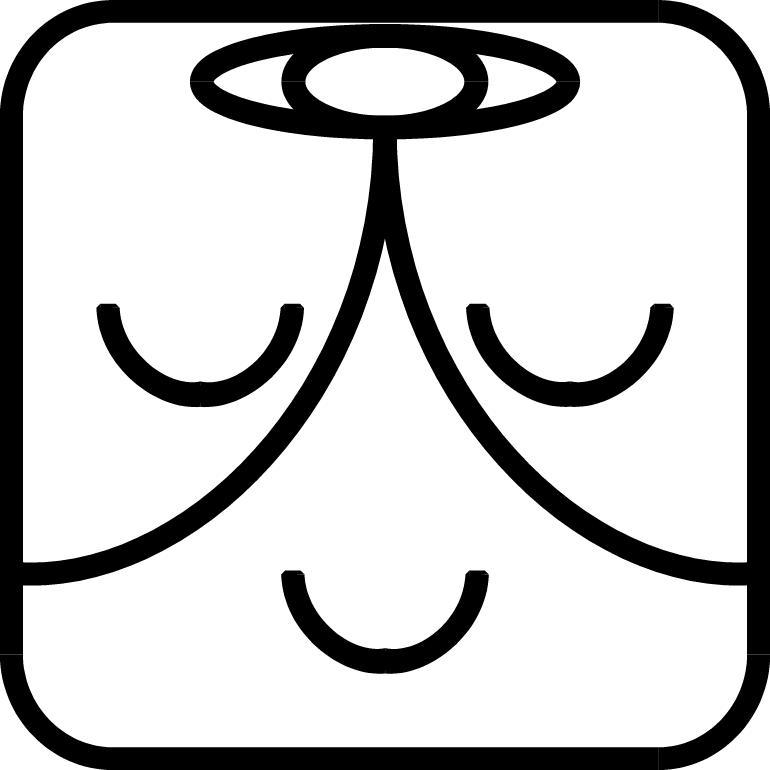 Weißer Magier-Symbol