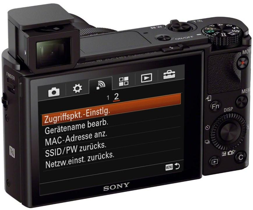 Sony DSC-RX100 III hinten