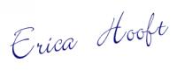 Handtekening Erica LW blauw
