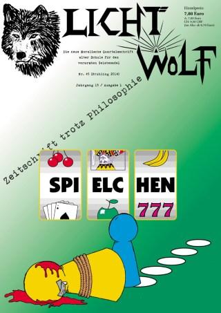 """Lichtwolf Nr. 45 (""""Spielchen"""")"""