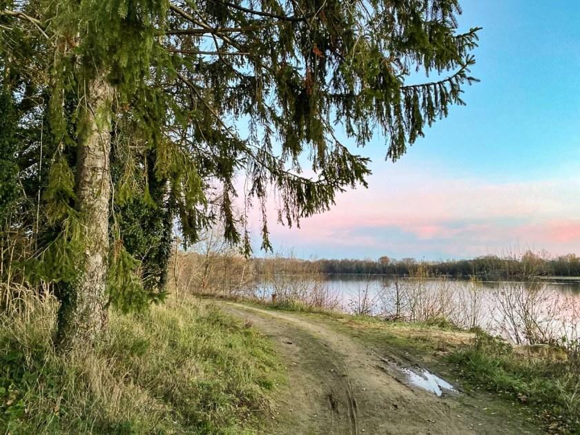 Wanderweg am Kottruper See
