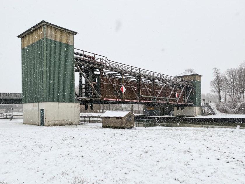 Sperrtor am Dortmund-Ems-Kanal in Münster-Gelmer