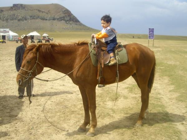 אורי על הסוס