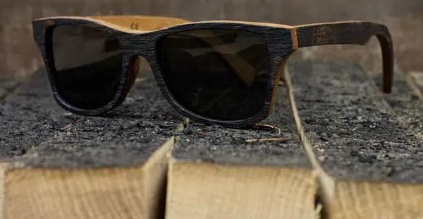 Gafas de Sol elaboradas con barricas de whisky irlandés