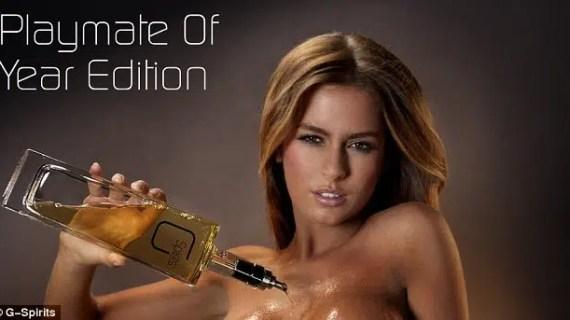 """G-Spirits: whisky, ron y vodka """"enriquecidos"""" al pasar por los pechos de top models"""