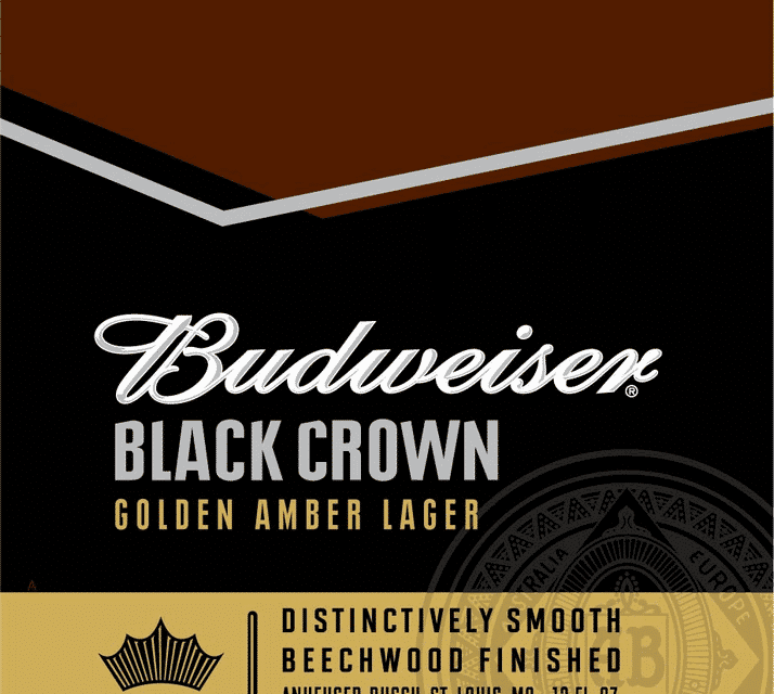 Nueva Budweiser Black Crown