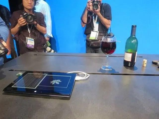 Microprocesadores que funcionan con vino