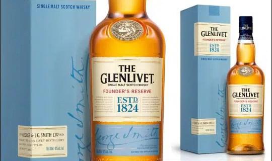 Glenlivet 12 años dejará paso a Founder's Reserve