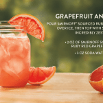 Vodka Smirnoff Sourced Grapefruit