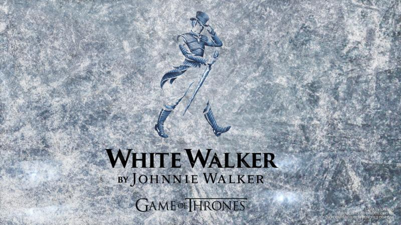 Johnnie Walker edición White Walker