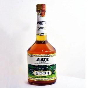 Anisette licores