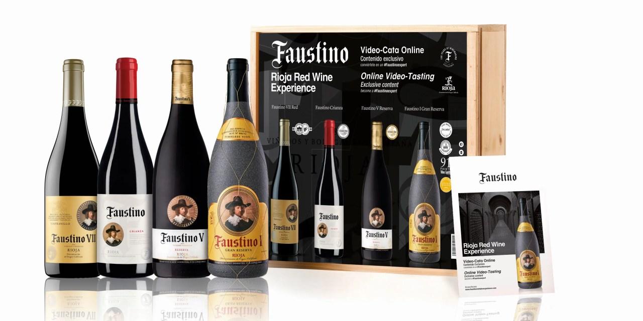 Bodegas Faustino presenta el Pack Faustino Red Wine Experience, 4 vinosde la bodega riojana