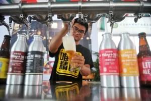 cervezas artesanales en China