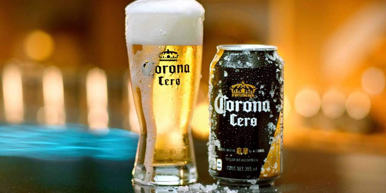 Corona Cero en el menú de Burger King y Grupo Modelo en México