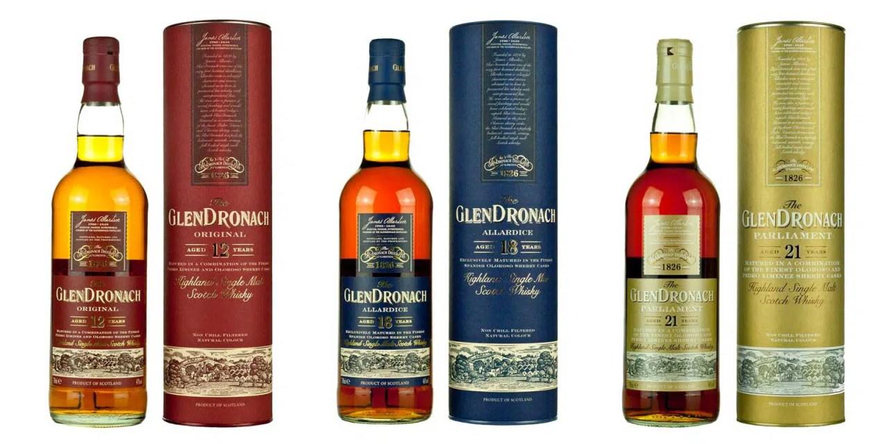 Glendronach: 5 whiskies maduros de jerez