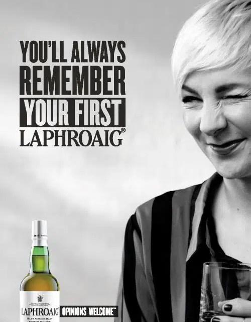 Whisky Laphroaig 1er Single malt de Reino Unido presenta nueva campaña publicitaria