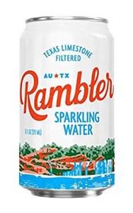 Bebidas sin alcohol #3: Agua con gas Rambler