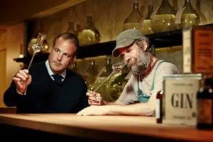 Whisky con Chile Alexander stain experimentación