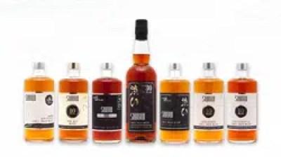 La gama de whiskies Shibui