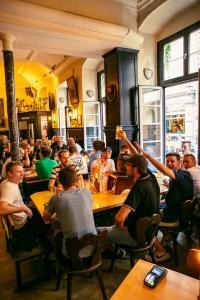 una ciudad cervecera al estilo alemán
