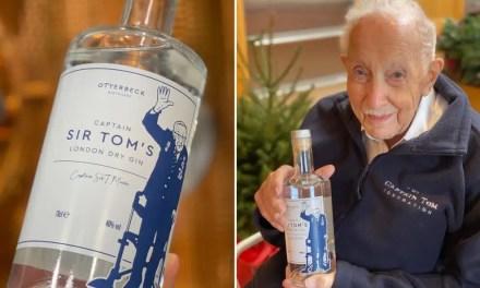 Disponible Captain Sir Tom, de la marca London Dry Gin