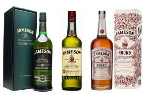 Jameson es quizás el más conocido de los whisky irlandés