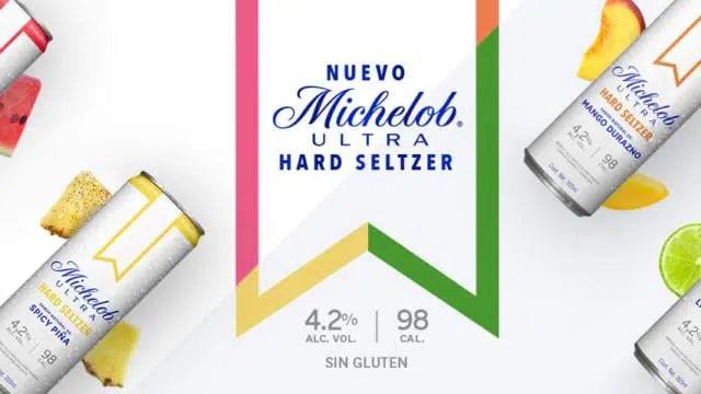 Bebida Hard Seltzer de Michelob Ultra, nuevo sabor para 2021