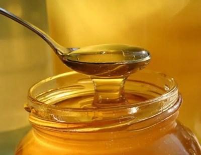 La miel en el remedio