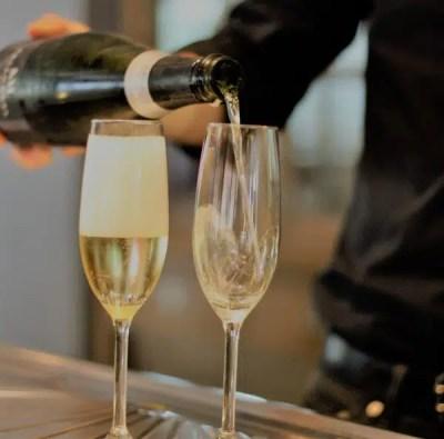 envío de champán