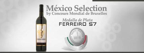 Junto al Tlahuel, el vino Ferreiro 57 salió galardonado