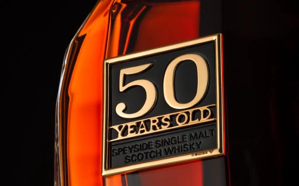 The Glenrothes subasta su single Malt Whisky de 50 años