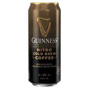 Guinness Nitro Cold Brew Coffee Beer.