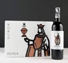 Munia Roble: un vino de éxito total en la mesa donde se presenta