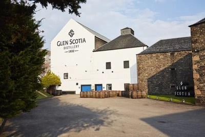 La destilería Glen Scotia