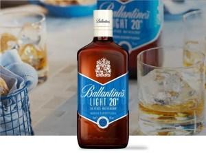 Ballantine's Light, la nueva moda de whiskies rebajados en alcohol
