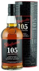 Glenfarclas 105 uno de los whisky cask strenght mas famosos