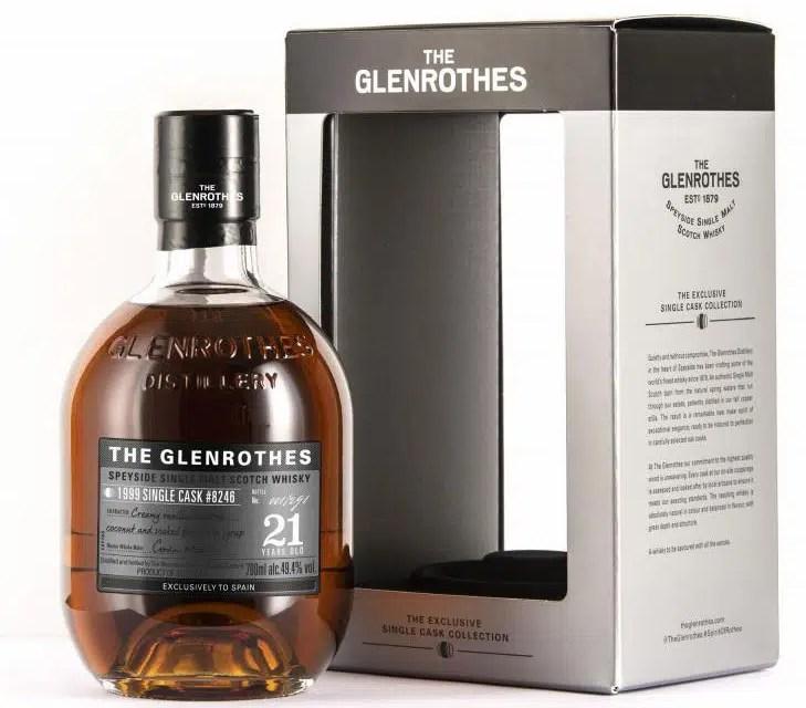 The Glenrothes 21 Years: la debilidad de los amantes del whisky