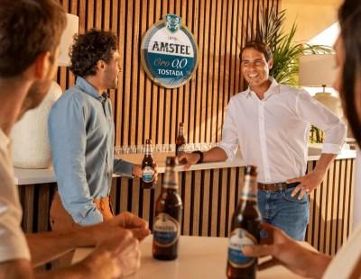 alianza entre el tenista y Amstel