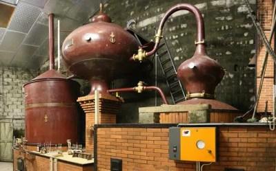 destilación del coñac