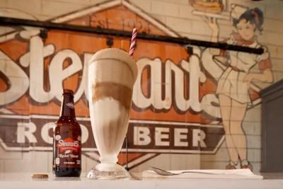 La cerveza de raíz Stewart's